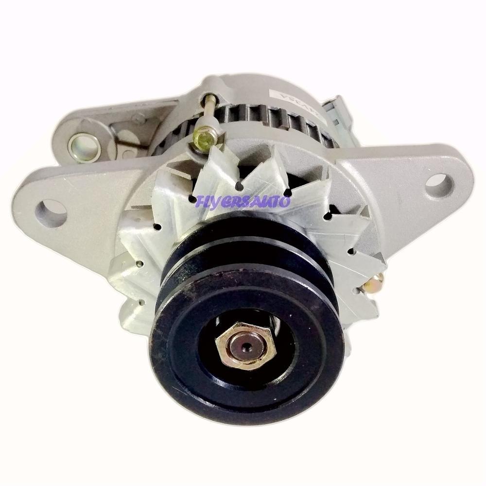 Nuevo 6BD1 alternador encaja 0-33000-6551-0-33000-6552-01-33-3000, 0330006551, 0330006552, 24V 35A AUTO partes eléctricas