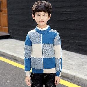 Image 3 - חורף בגדי ילדים ילדים בגדי חורף בגדי כותנה להתחמם בני סוודר בני אפודת בגדים