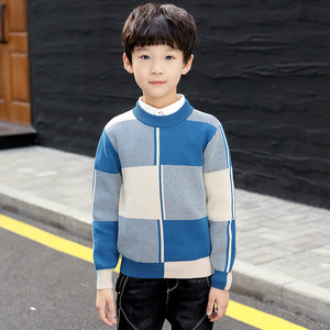 Image 3 - winter childrens clothing   Kids clothes  Winter clothes Cotton Keep warm Boys sweater pullover Sweater Boys clothing