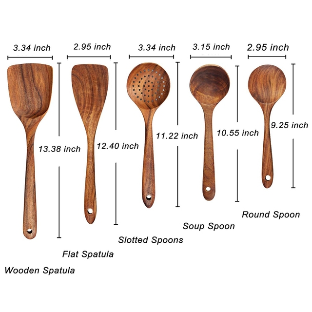 Wood Kitchen Utensils