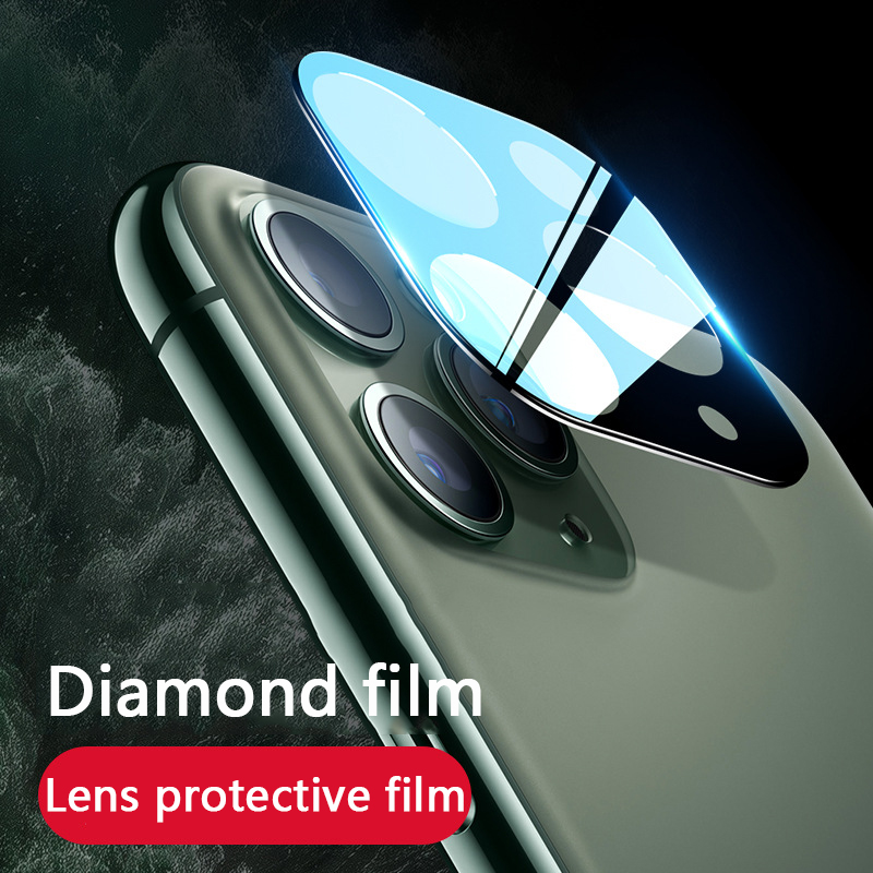 IPhone11 cámara trasera completa Protector de pantalla para iPhone 11 Pro Max vidrio templado trasero película protectora lente