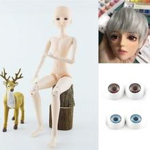 Кукла мальчиковая шарнирная с 3D глазами, 60 см