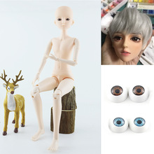 1/3 Boy BJD 60cm Doll with 3D Eyes Nude Body Normal Skin Male Body Without Makeup 21 Movable Jointed DIY Boyfriend Dolls Toys