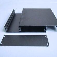 KYYSLB caja de placa de circuito para chasis amplificador de aleación de aluminio pura de 122x45MM carcasa de Metal, carcasa de instrumento, chasis de controlador de potencia