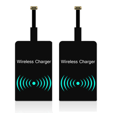 QI Wireless Charger Receiver For iPhone 5 SE 6 7 Micro USB T