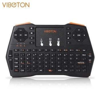 I8 Plus 2.4GHz sans fil MINI clavier télécommande avec pavé tactile pour Android Tv Box ordinateur portable tablette