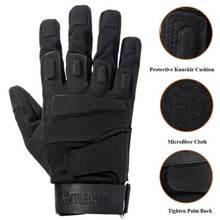 Перчатки с пальцами для мужчин и женщин тактические дышащие