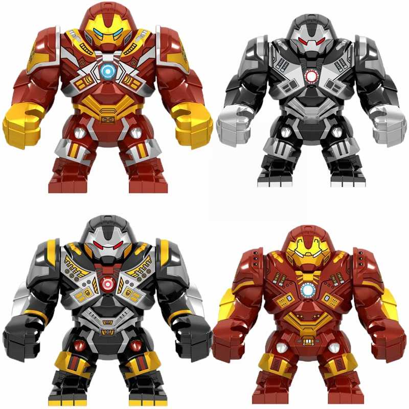 Legoing Marvel Set Toy Hobbies Anti-Hook Armor Batman Digital Character Model bricks Legoings Avengers Children Educational Toys