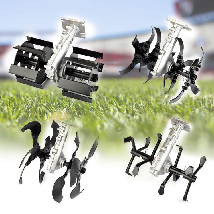 Garden Tool Accessories Lawn Mower Blades Mower Work Head Loosen Soil Head Weeding Ditching Wheel Trimmer Brushcutter Best Price