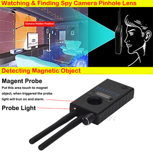 Image 5 - เสาอากาศคู่G528 Anti Candidซ่อนกล้องเครื่องตรวจจับRFสัญญาณSecret GPSเสียงGSMโทรศัพท์มือถือWifi Pinhole Cam Spy bug Finder