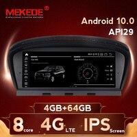 8.8'' IPS screen 4G+64GB android 10.0 Car DVD Multimedia player for BMW 5 series E60 E61 E63 E64 3Series E90 E91CCC/CIC system