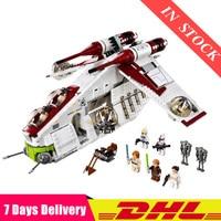 05041 Star War Genuine The The Republic Gunship Set Educational Building Blocks Bricks Toys Compatible Legoinglys 75021