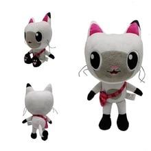 Gabby Dollhouse Plush Toy Mercat Cartoon Stuffed Animals Mermaid Cat Mermaid Plushie Dolls Kids Birthday Gifts