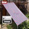 Новая Солнцезащитная полоса Tewango для патио/дворов/крыш  Летняя Сетка с защитой от УФ-лучей  180 г/см  HDPE для затенения парусов  садовых растений