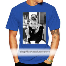 Audrey Hepburn T Shirt Classic Shirt Unisex Actress Tee Vintage Top Old School High Quality Casual Printing Tee Shirt