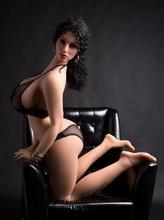 Ailijia 170 سنتيمتر 08 # ضخم الثدي دمية جنسية الحياة حجم كامل TPE مع هيكل عظمي الحب دمية كبيرة الثدي الجسم للرجل لعبة الجنس
