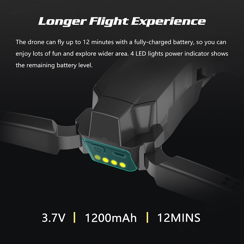 Drone 1080P HD WiFi Transmission Fpv drone height keeps one-button return Quadcopter RC helicopter camera Aerial Photography