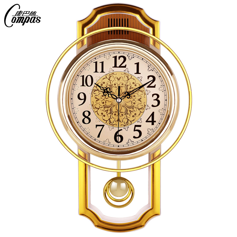 Large Vintage Wall Clock Luxury Pendulum Simple Stylish Living Room Clocks Nordic Creative Wall Watches Horloge Home Decor