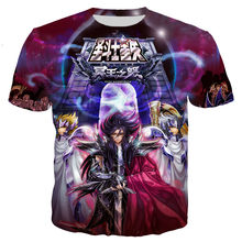 Saint Seiya T Shirt Men/women 3D Printed T-shirts Casual Harajuku Style Tshirt Streetwear Tops