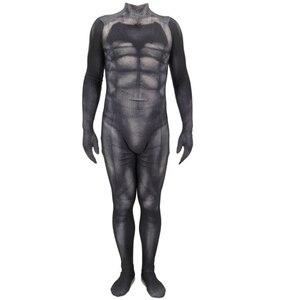 Image 4 - Batman v Superman: Dawn of Justice Bruce Wayne Cosplay Costume Zentai Superhero Bodysuit Suit Jumpsuits Cloak