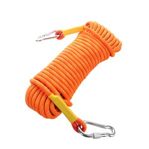 Image 2 - 10.5mm Outdoor Climbing Rope 10 50M Rock Ice Climbing Equipment High Strength Survival Paracord Safety Rope Climbing Accessory