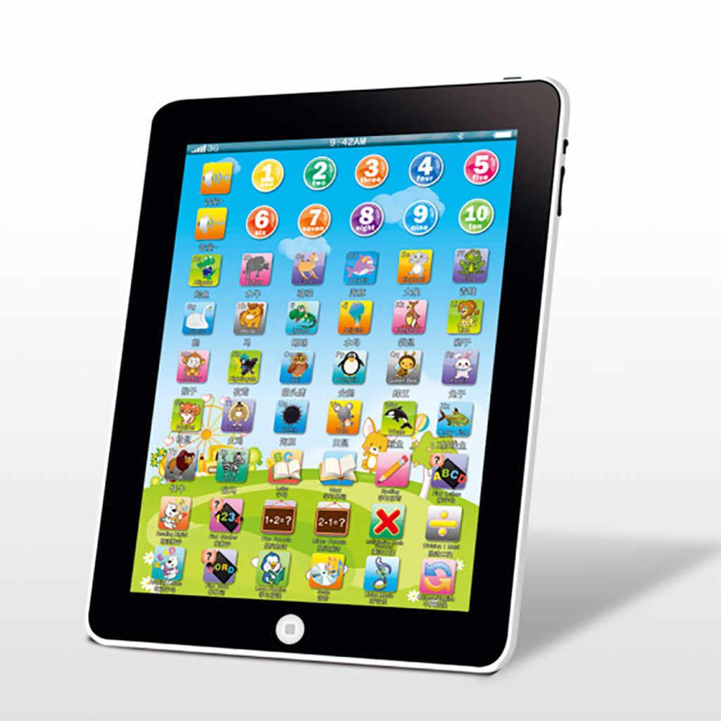 Tableta De Ordenador Táctil Para Bebé Tablet De Lectura Educativa Para Aprendizaje Temprano Juguetes De Lenguaje Chino E Inglés Máquinas De Aprendizaje Aliexpress