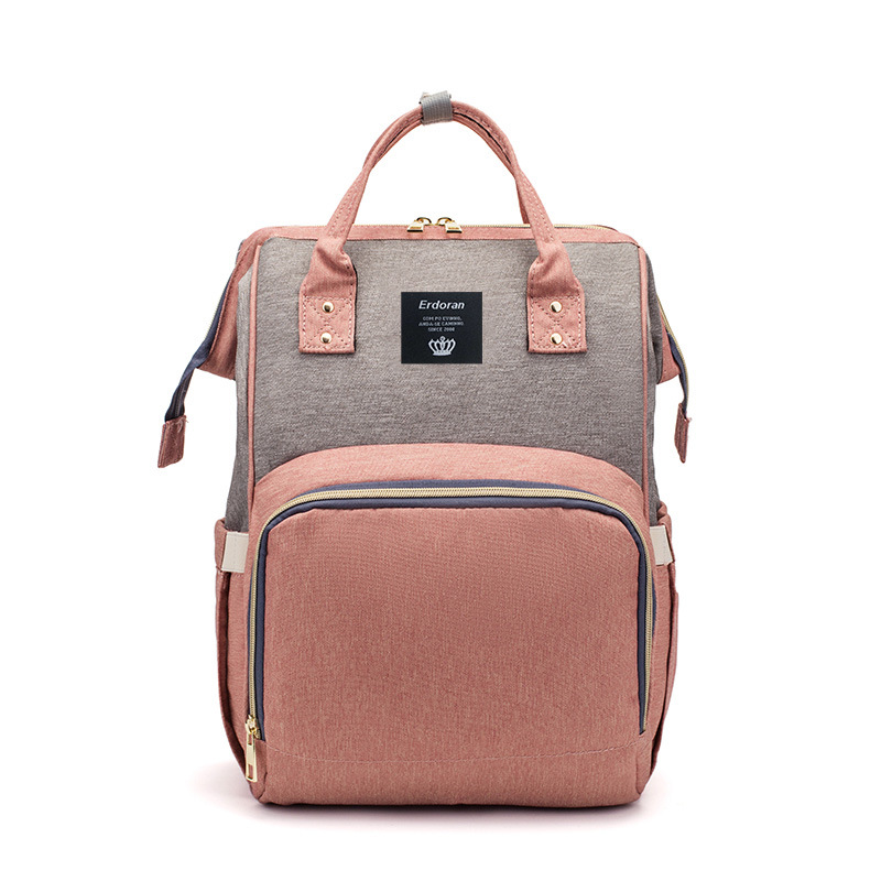 New Style Diaper Bag Multi-functional Large-Volume MOTHER'S Bag Cross Border Hot Sales Mommy Bag Infant Maternity Package Manufa