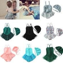 Newborn Swimwear Bikini Beach-Wear Girl Baby One-Piece Children for Babies UV Bathing-Suit