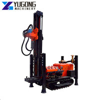 Multifunction Crawler Type Mounted Pneumatic Mining Water Well Hydraulic Rig Drilling Irrigation Rock Well Resource Exploration