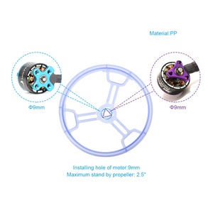 4 шт. HGLRC 3 дюйма 2,5 дюйма Защитная крышка кольца для 1106 1406 1105 1106 бесщеточный двигатель 3028 3052 2540 RC Racing BetaFPV Drone