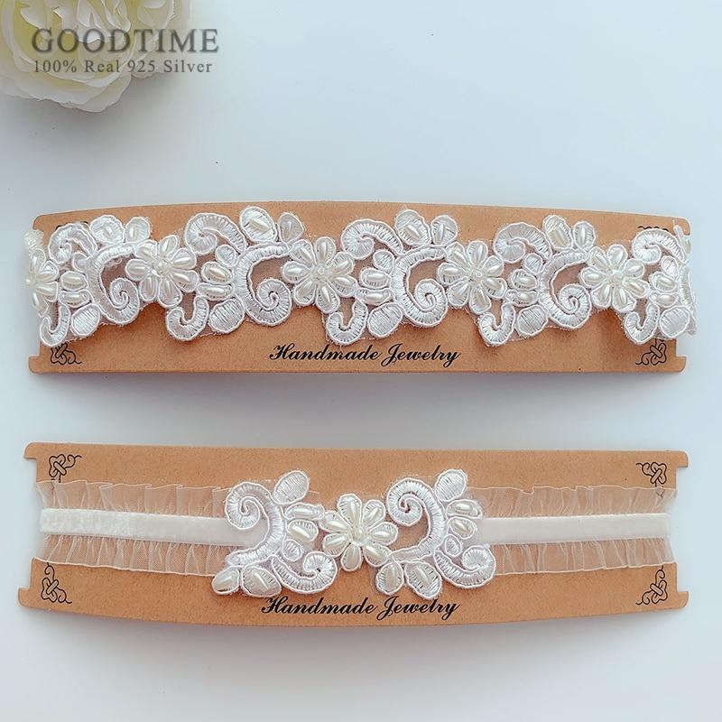 Fashion Wedding Garter Sexy Thigh Ring Bridal Lace Elastic Leg Loop Wedding Accessories For Women Girl Party Dress