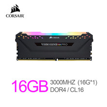 Corsair Vengeance RGB Pro 16GB (1x16GB) DDR4 3000 (PC4-24000) C16 Desktop Memory – Black