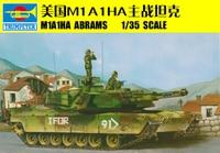 WSN 00334 1/35 U.S.M1A1HA ABRAMS Tank Electric Armored Model Car Kit Motor