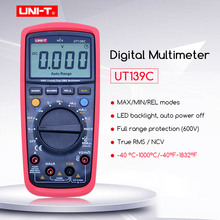 цена на UNI-T UT139C True RMS  Digital Multimeter LCD Display LCR Meter Handheld Tester  Ammeter Multitester