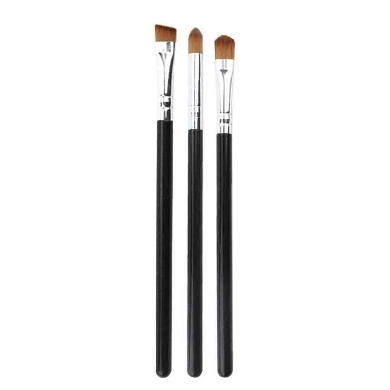Hot 1/3Pcs Make-Up Borstel Cosmetische Penselen Kabuki Gezicht Neus Borstels Concealer Foundation Wenkbrauw Eyeliner Blush Poeder Make-Up tool