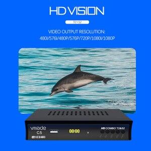 Image 2 - Châu Âu Nga Full HD Đầu Thu Kỹ Thuật Số DVB T2 S2 Combo Vệ Tinh Truyền Hình Hỗ Trợ YouTube M3U IKS BISS Mã Truyền Hình Bộ trên Hộp Có WIF