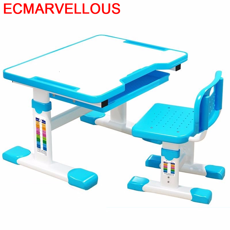 Cocuk Masasi Children And Chair Escritorio Silla Y Infantiles Baby Adjustable Mesa Infantil Enfant For Kinder Kids Study Table