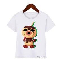 Футболка детская с мультяшным принтом милая и забавная рубашка