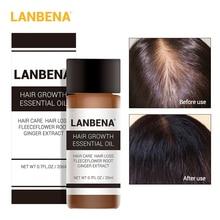 Экстракт LANBENA быстро суть рост волос растение Лечение выпадения отрастания эфирное масло женщины мужчины продукты ухода за 20мл