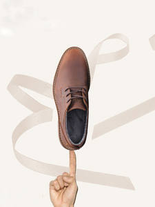 ZFTL Dress-Shoes Handmade Business Men's Genuine-Leather NEW Man Lace-Up 0152 Casual-Tooling