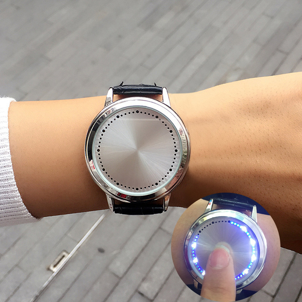 Fashion Casual Men Watches Touch Screen Led Electronic Clock Unisex Sport Watch LED reloj hombre
