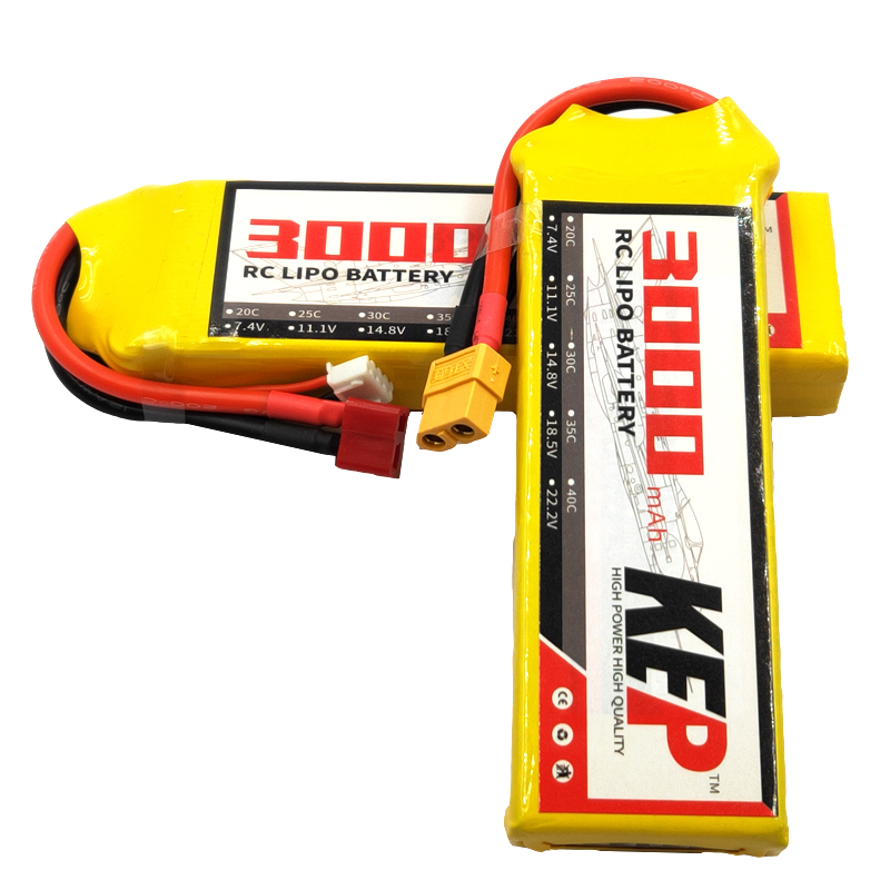 RC <font><b>lipo</b></font> battery <font><b>2S</b></font> <font><b>3000mAh</b></font> 7.4v 25C RC <font><b>LiPo</b></font> Batteries For Remote Control Model XT60 High Capacity Rechargeable image