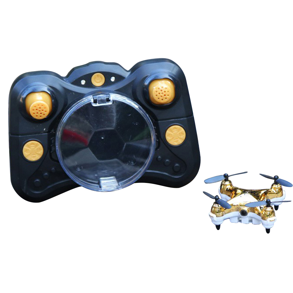 Remote Control One Key Takeoff HD Follower Quadcopter Outdoor Early Education 360 Degrees Rotatable USB Charging Mini Drone
