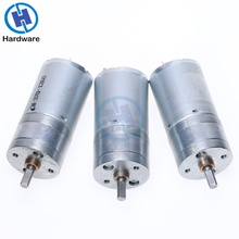 1Pcs 12RPM to 1360RPM GA25-370 DC Motor Geared Motor  6V 12V