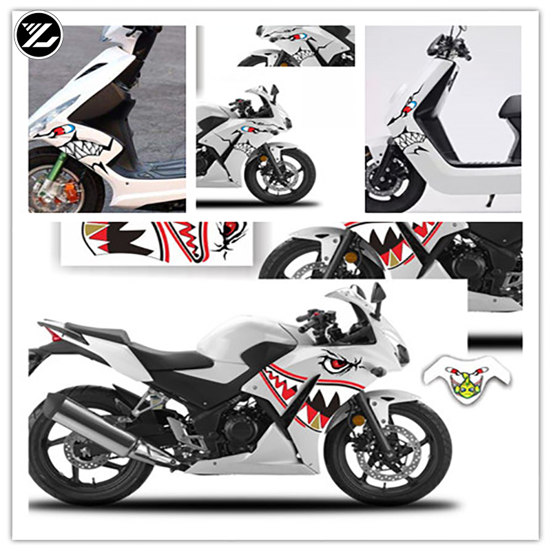 For Honda <font><b>cbr300r</b></font> Motorcycle <font><b>Sticker</b></font> Waterproof Motorcycle Decoration <font><b>Sticker</b></font> Electric Car <font><b>Sticker</b></font> Foil image