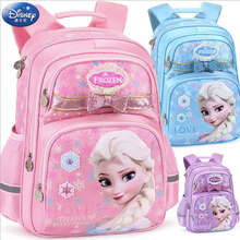 1pc Genuine Disney frozen backpack Elsa Anna Snow Queen cartoon school bag big size Breathable primary School backpack girl gift backpack anna luchini сумки стеганые