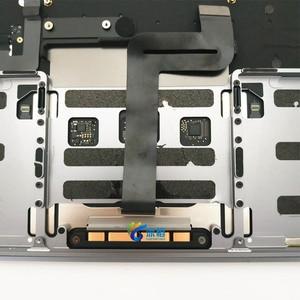 """Image 5 - 오리지널 13.3 """"A1708 Topcase Space 그레이 실버 미국 키보드 트랙 패드 백라이트 Macbook Pro 용 Retina A1708 탑 케이스 커버"""