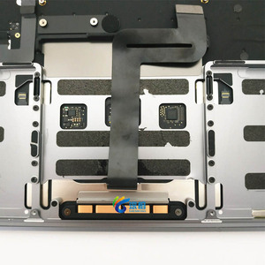 "Image 5 - Original 13.3 ""A1708 Topcase Raum Grau Silber UNS tastatur Trackpad hintergrundbeleuchtung Für Macbook Pro Retina A1708 Top cases Abdeckung"