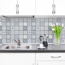 DICOR 500cm Modern Kitchen Stickers Waterproof Oilproof Classic Pattern Wall Stickers Protect Desktop One Piece Self-adhesive