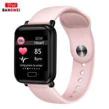 2019 Smart Watch IP67 Waterproof Heart RateMusic Control Fitness Smart Wristband Men Women Smart Bracelet For Android IOS Watch(China)